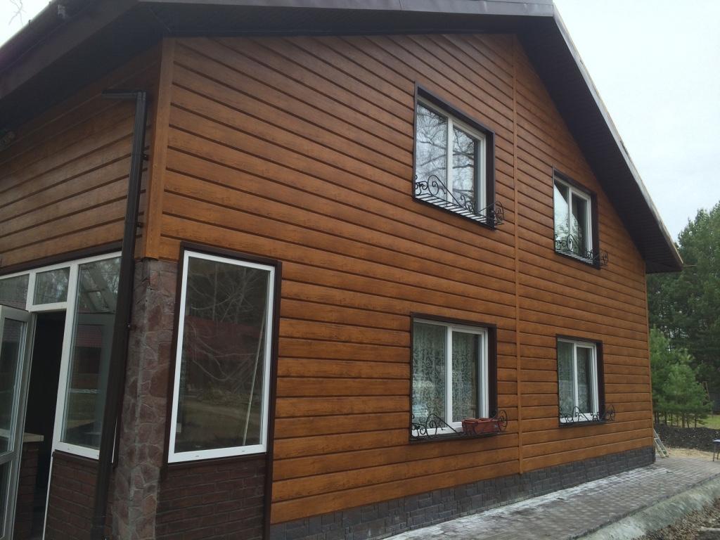 Примеры фасадов домов с штукатуркой